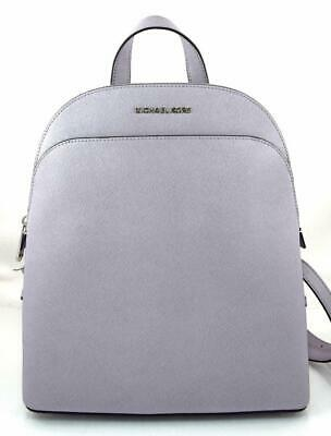f1adc37847f4 Authentic New Nwt Michael Kors $368 Leather Emmy Purple Lilac Backpack