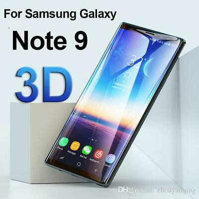 For-Samsung-Galaxy-Note-9-3D-Clear-Curved-Tempered-Glass-Screen Protector