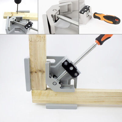 Woodworking Metal Welding 90°Corner Right Angle Clamp Corner Vice Adjustable jaw
