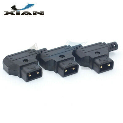 Male D-Tap Connector Plug rewirable DIY Plug for V-mount Anton Camera Battery