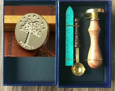 New Hot Lord Of The Ring Wax Seal Stamp Wax Spoon Box Ancient Retro High Quality