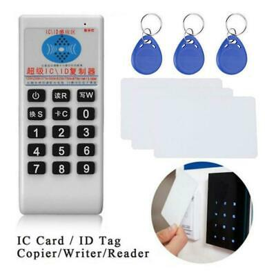 1356MHz IC Card  ID Tag ier Writer Reader Duplicator English Voice for Card I2Z0