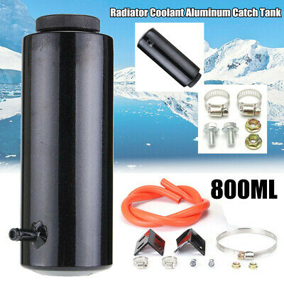 Aluminum 800ml Overflow Catch Tank Radiator Coolant Expansion Tank Bottle