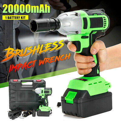 98F 20000mAh 320Nm Electric Brushless Impact Wrench Cordless Driver with