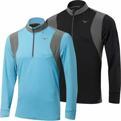 60% Off Rrp Mizuno Layer Zip Warmalite Pullover Mens Performance Golf Cover-Up
