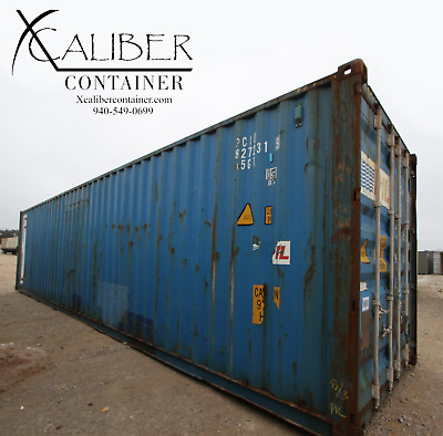 40' HC Used Shipping Container Cargo Container Conex Box Pecos, TX