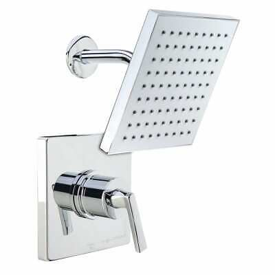 Miseno MS-650625E-S Chrome Elysa Shower Trim Package with Single Function Rain