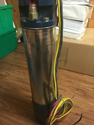 Deep Well Submersible Electric Pump Motor