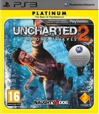 PS3 Uncharted 2: Among Thieves (Sony PlayStation 3, 2009) [VGC]