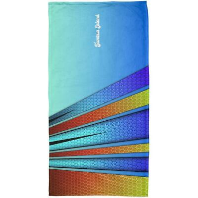 Tavarua Island Fiji Surf Board All Over Beach Towel