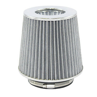 """BLACK 6 Inches 6/"""" 152mm Inlet Cold Air Intake Cone TRUCK FILTER For Dodge"""
