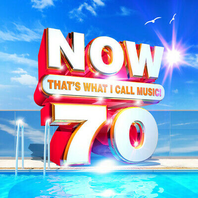 Now 70: That's What I Call Music ***NEW CD!! Ariana Grande J. Cole Billie Eilish