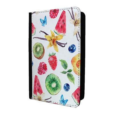 Passport Holder Case Cover Tropical Fruit Water Mellon - S733