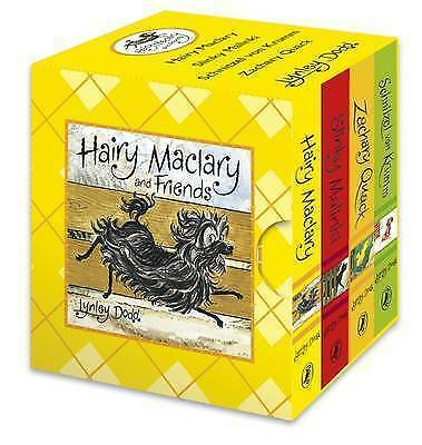 NEW Hairy Maclary and Friends Little Library Lynley Dodd - 4 Small Board Books