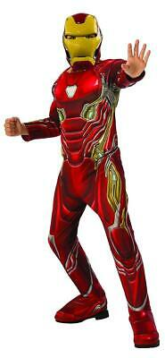 Marvel Avengers: Infinity War Deluxe Iron Man Child Costume, Large