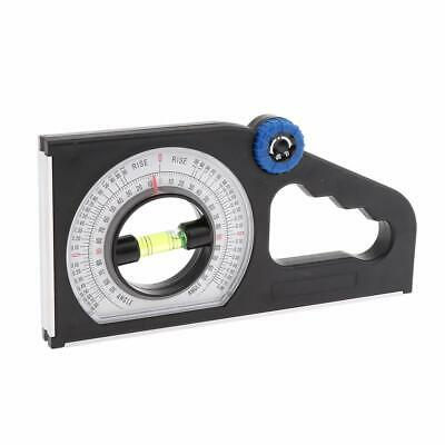 Slope Inclinometer Angle Finder Protractor Level Meter Clinometer Gauge Magnetic
