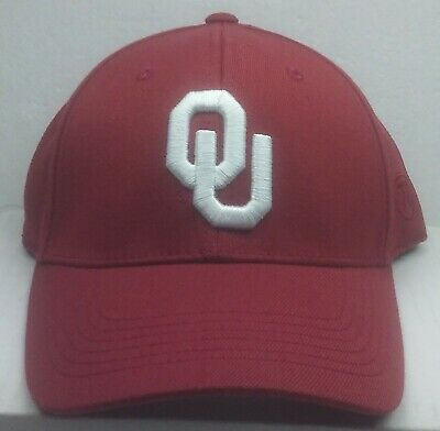 brand new 22798 7edf7 Top of the World OKLAHOMA SOONERS ONE FIT WOOL HAT Cap Official NCAA New