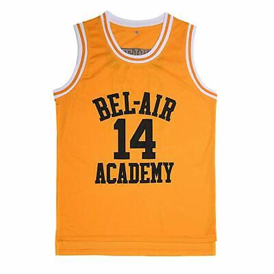 The Fresh Prince of Bel-Air Will Smith #14 Bel-Air Academy Basketball Jersey
