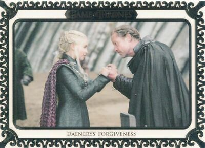 Game Of Thrones Inflexions White [50] Base Card #109 Daenerys' Forgiveness