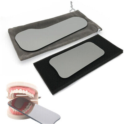 Photographic Mirror Dental Stainless Steel 5pcs Intraoral Intra-Oral Rhodium