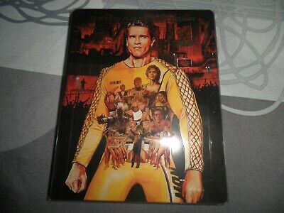 blu ray steelbook  the running man ( schwarzenegger ) version française