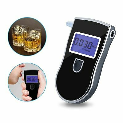 Portable Digital LCD Breath Alcohol Tester Breathalyzer Analyzer Police Detector