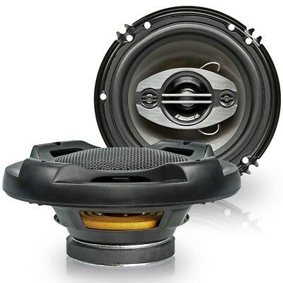Upgrade Speaker 6 1/2in Coax for Skoda Octavia 1 96-04 Front/Rear