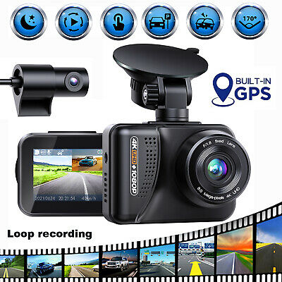 Campark Action Cam 4K WiFi Kamera 20MP Touchscreen 40M Unterwasser Wasserdicht