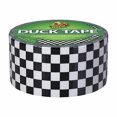 Duck Br/& 280410 Printed Duct Tape Checker 1.88 Inches x 10 Yards Single Roll