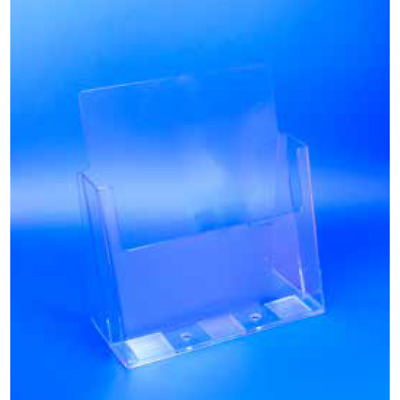 Acrylic Brochure Holder Counter-Top Display A4 A5 DL Pack of 12