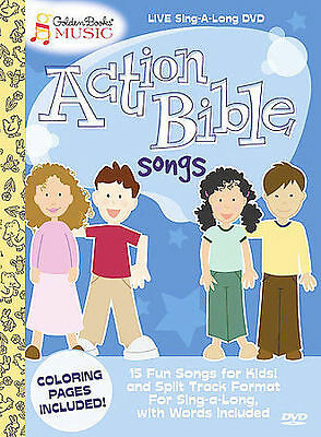 GOLDEN BOOKS MUSIC : Action Bible Songs CD - $4 60 | PicClick