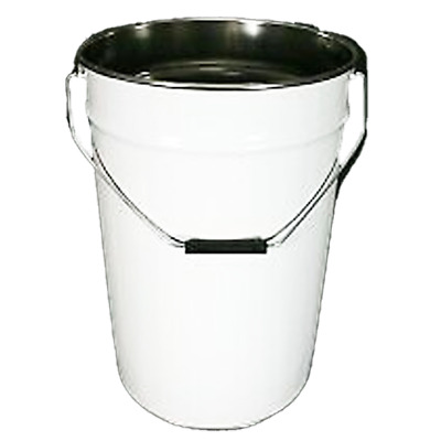 Metal Drum with Lid & Latch - 25ltr