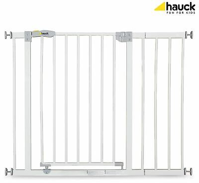 Hauck OPEN N STOP SAFETY GATE + 21CM EXTENSION WHITE Baby/Child Safety BN
