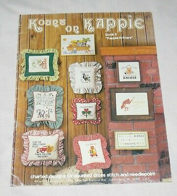 Kount on Kappie Book 6 Kappie Kritters Charted designs for counted cross stitch