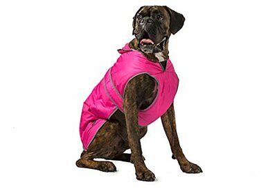 1078573-Ancol Muddy Paws Storm Guard Dog Coat, Rosa, Small