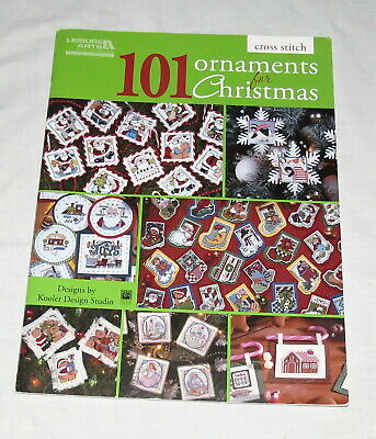 Leisure Arts Cross Stitch 101 Ornaments for Christmas - Kooler Design Studio