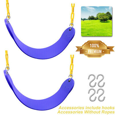 2 Packs Heavy Duty Swing Seat - Swing Set Accessories Swing Seat Replacement NEW