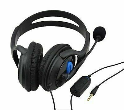 Deluxe Headset Headphone With Microphone Volume Control for Xbox One Controller
