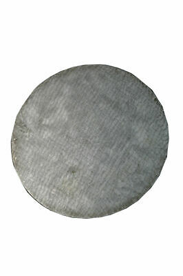 "Cast Iron Surface Plate Round 8"" Dia - Marking Plate Hand Scrapper 200mm - New"