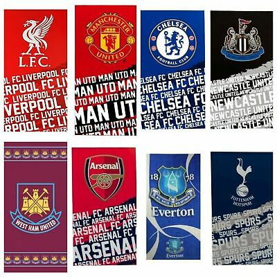 Official Licensed Football Club/Team Towels.