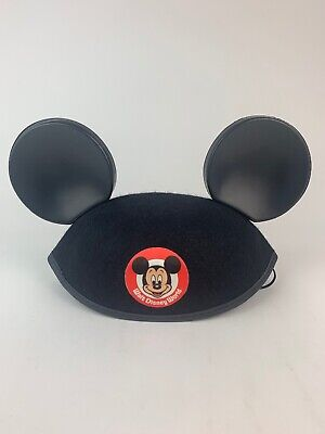Walt Disney World Mickey Mouse Ears Hat - Vintage Great Condition Youth One Size