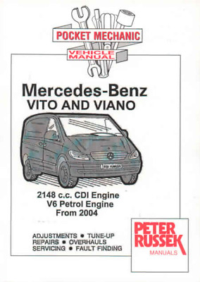 Mercedes Vito Viano Petrol CDI Diesel W639 Owners Workshop Manual Service Repair