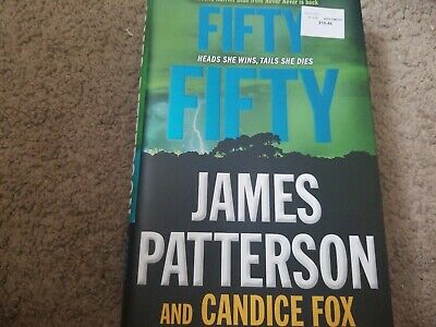 Harriet Blue: Fifty Fifty by James Patterson and Candice Fox (2017, Hardcover)