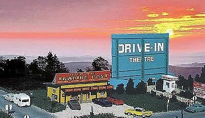 Blair Line Ho Scale Drive-In Theatre Kit | Bn | 168