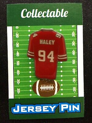 separation shoes d05ab f7278 SAN FRANCISCO 49ERS Charles Haley Autographed Signed Red ...