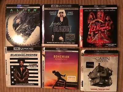 4K Ultra HD Blu-ray Slipcover Lot of 31 Slipcovers Only Updated