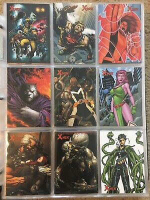 2009 Marvel X-Men Archives Trading Cards COMPLETE BASE SET, #1-72 NM Rittenhouse
