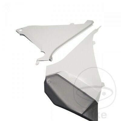 For KTM EXC 125 2T 2012 Polisport Airbox Cover White
