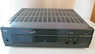 VINTAGE NAD 2155 Stereo Power Amplifier Tested Nice