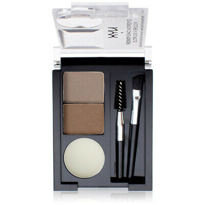 NYX Eyebrow Cake Powder Taupe/Ash With Wax To Create Ideal Shade 0.09oz. (2.65g)